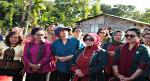 Ketua Umum OASE Cinta Kabinet Kerja Kunjungi Program Kampung Sejahtera di Kabupaten Malaka