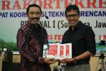 Ramah tamah peserta Rakortekrenbang di Istana Gubernur Sumatera Barat